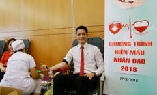 500 cán bộ - nhân viên Sacombank hiến máu cứu người
