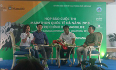 Hơn 7.000 người tham gia giải Manulife Danang International Marathon 2018