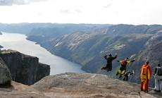 Thót tim những trải nghiệm nguy hiểm nhưng đầy kích thích ở Na Uy