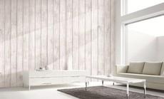 Nhà đẹp lạ lùng với giấy dán tường giả gỗ