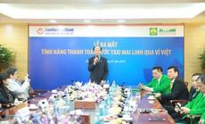 Thanh toán cước taxi Mai Linh qua Ví Việt