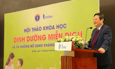 Bộ Y tế lần đầu tiên hội thảo về Dinh dưỡng miễn dịch
