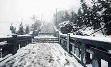 Thác mây, suối băng và nhiều điều kỳ thú chưa biết về Fansipan trong mùa đông