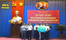 Vietcombank tài trợ 3 tỉ đồng xây nhà tình thương