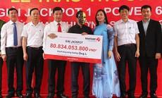 Người đàn ông Nghệ An may mắn trúng Vietlott hơn 80 tỉ đồng