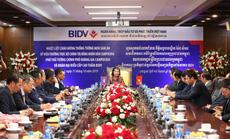 Phó Thủ tướng Chính phủ Hoàng gia Campuchia thăm và làm việc tại BIDV
