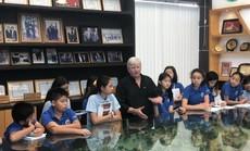 Học sinh Trường Quốc tế Nam Sài Gòn tham quan VWS