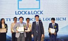 Lock & Lock lần thứ 4 lọt Top 10 sản phẩm, dịch vụ Tin & Dùng