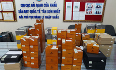 Bắt lượng xì gà cực lớn buôn lậu qua sân bay Tân Sơn Nhất