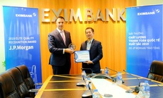 Eximbank liên tiếp nhận giải Thanh toán xuất sắc