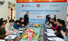 Khởi động Dự án phát triển giáo dục nghề nghiệp Việt Nam - Đan Mạch