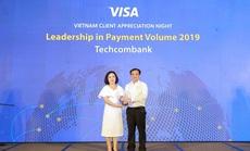 Techcombank đứng đầu toàn thị trường về doanh số thanh toán qua thẻ Visa