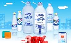 SAPUWA tưng bừng khuyến mãi trên kênh Tiki và Shopee