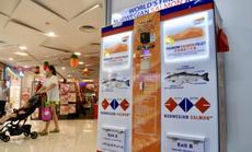 Singapore có ATM cá hồi đầu tiên thế giới