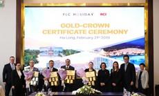4 quần thể, khách sạn của Tập đoàn FLC nhận chứng nhận Gold Crown