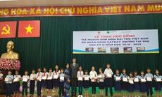 Trao 1.200 suất học bổng cho học sinh nghèo, hiếu học tại Quảng Nam và TP HCM