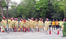 Tập huấn PCCC cho lực lượng tại chỗ của VWS