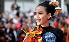 Trương Thị May đẹp hút hồn trên thảm đỏ Cannes