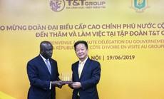 Bộ trưởng Ngoại giao Cộng hòa Bờ Biển Ngà đến thăm và làm việc tại T&T Group