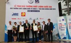 C.P. Việt Nam đạt hai giải thưởng chất lượng quốc gia năm 2018