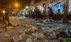 Ngập rác ở Festival ẩm thực quốc tế