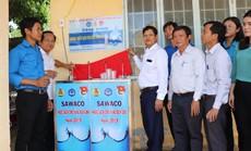 Sawaco trao trụ nước uống tại vòi cho các xã vùng biên giới huyện Trảng Bàng, tỉnh Tây Ninh
