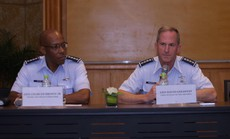 Hai đại tướng không quân Mỹ cùng thăm Việt Nam