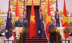 Thủ tướng Việt Nam - Úc quan ngại sâu sắc trước các diễn biến trên Biển Đông