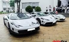 Đây là người sở hữu nhiều Ferrari nhất tại Việt Nam