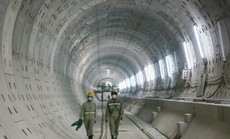Diện mạo đường hầm Metro số 1 xuyên lòng đất tại TP HCM