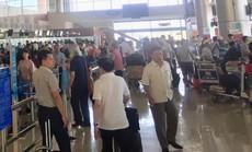Hai thanh niên xô xát trong nhà ga hành khách quốc tế Nội Bài