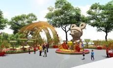 Hội hoa Xuân Phú Mỹ Hưng Tết Canh Tý 2020: Rước Lộc Đồng Hoa