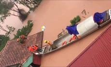 Quảng Bình: Sau lũ,thi thể người đàn ông nổi lên trong vườn nhà