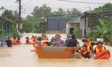 6 người tử vong, 100.000 nhà dân ở Quảng Bình bị ngập lụt do mưa lũ