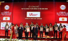 URC được vinh danh top 10 công ty đồ uống uy tín nhất Việt Nam năm 2020