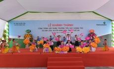 Vietcombank xây dựng trường tiểu học trên quê hương Chủ tịch Hồ Chí Minh