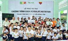 Quỹ Herbalife Nutrition Foundation tiếp tục hỗ trợ dinh dưỡng cho các em nhỏ có hoàn cảnh khó khăn