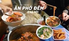 Ăn phở đêm ở Hà Nội