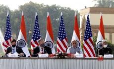 """Trung Quốc cảnh báo về Chiến tranh lạnh sau cái """"bắt tay"""" Mỹ-Ấn"""
