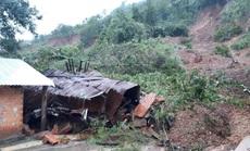 Đắk Lắk: Sạt lở núi vùi lấp, làm sập nhiều căn nhà