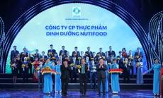 NutiFood lần thứ hai được vinh danh Thương hiệu quốc gia