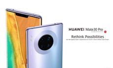 Điện thoại Huawei Mate 30 Pro sẽ được bán tại Việt Nam