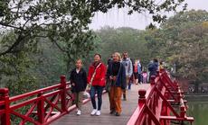 Du khách quốc tế đến Hà Nội tăng trở lại giữa dịch Covid-19