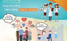 ABBank cung cấp khẩu trang miễn phí cho khách hàng đến giao dịch