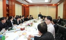 Bộ trưởng Nguyễn Xuân Cường đến thăm và làm việc cùng C.P. Việt Nam