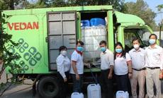 Vedan Việt Nam tài trợ 3.200 lít Javen khử trùng phòng chống dịch bệnh Covid-19