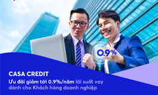 MB tung chương trình ưu đãi lãi vay CASA CREDIT cho khách hàng doanh nghiệp