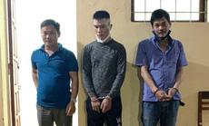 """Bắt băng nhóm chuyên trộm chó """"tung hoành"""" khu vực bắc Quảng Bình"""