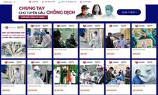 Cộng đồng có thể chung tay quyên góp trực tuyến giúp tuyến đầu chống dịch