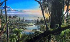 """Phát hiện đường vào """"rừng bóng tối"""" thời khủng long dưới... sông băng Nam Cực"""